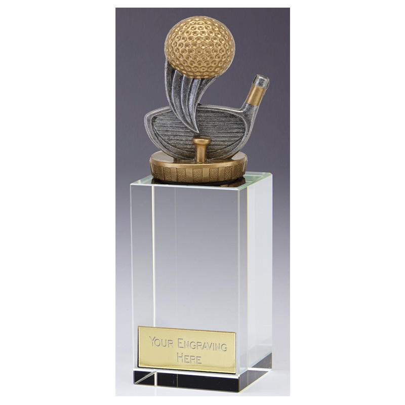 17cm Golf Figure on Golf Merit Award