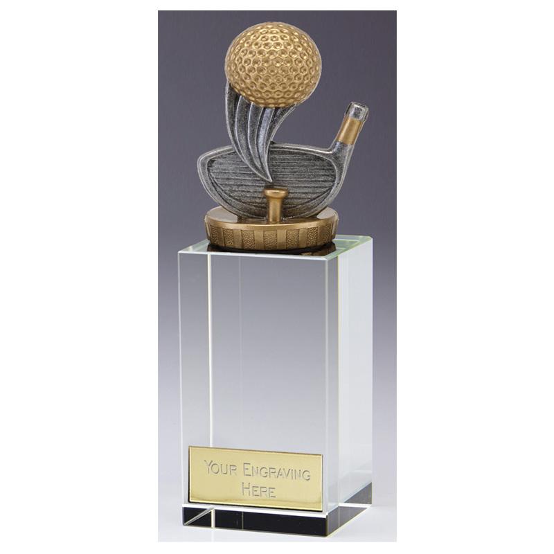 17cm Golf Figure on Golf Merit Award