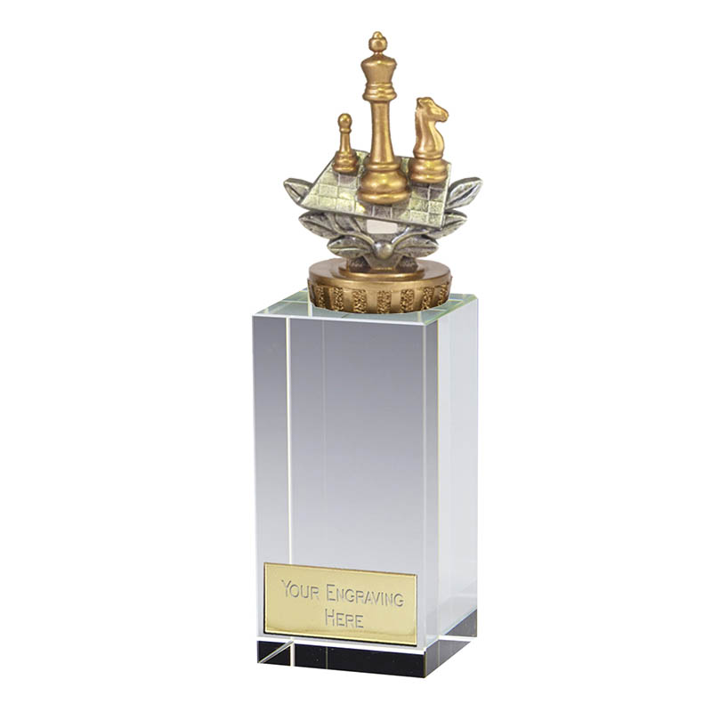 17cm Chess Figure on Chess Merit Award