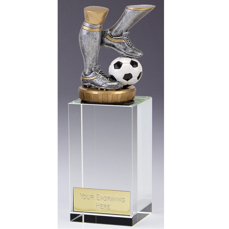 17cm Football Legs Figure on Football Merit Award
