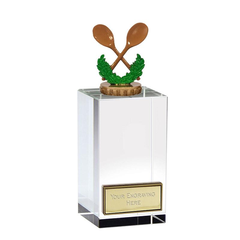 17cm Wooden Spoon Figure on Merit Award