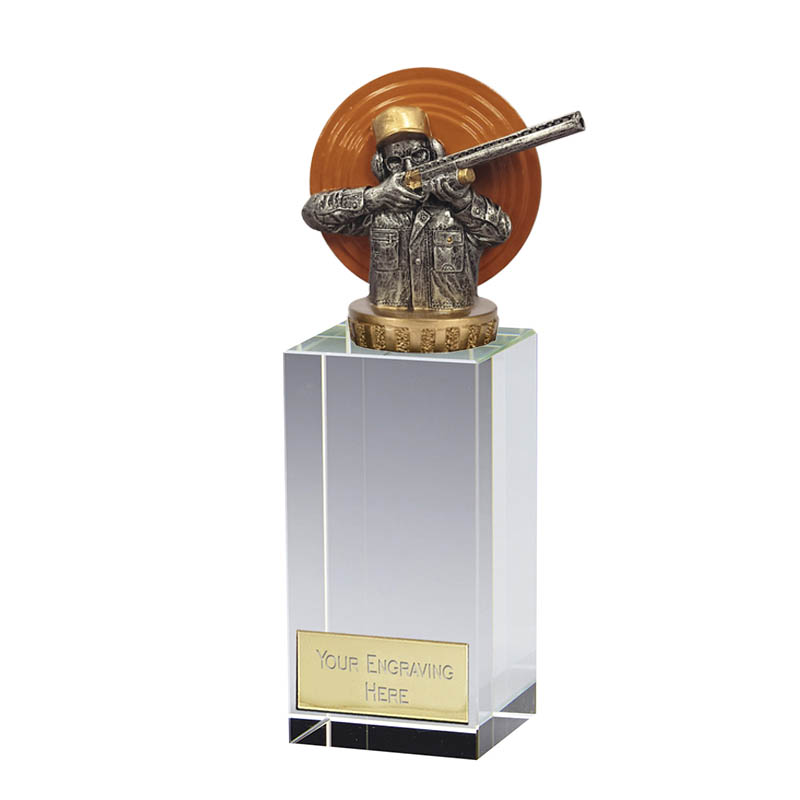 17cm Clay Shooting Figure on Shooting Merit Award