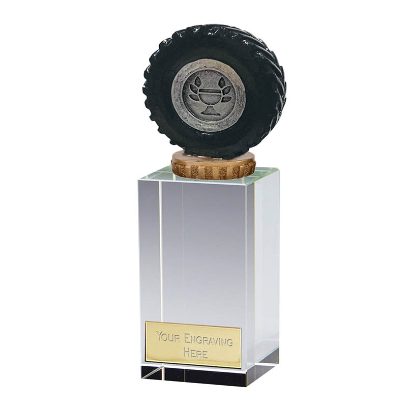 17cm Tractor Tyre Figure On Merit Award