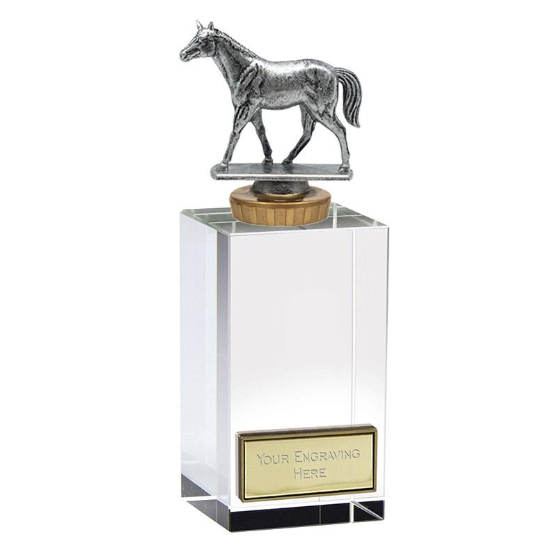 17cm Quarter Horse Figure On Horse Riding Merit Award