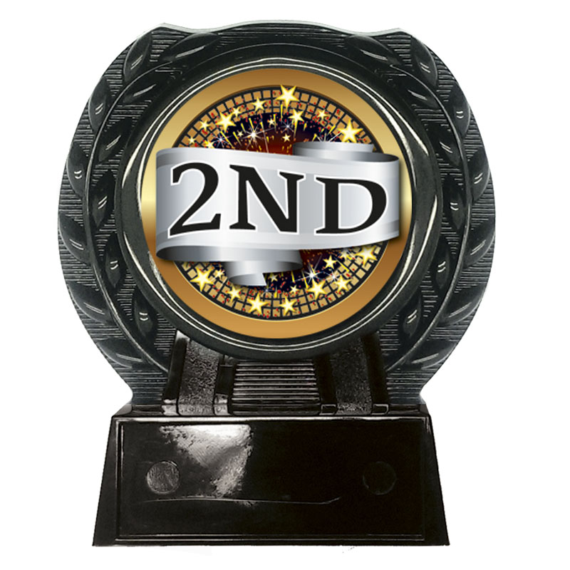 4 Inch 2nd Place Centre Wreath Alberta Award