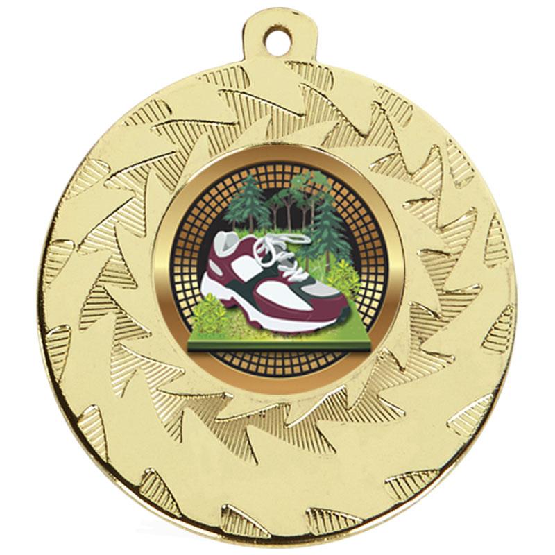 Gold Trainer Running Prism Medal