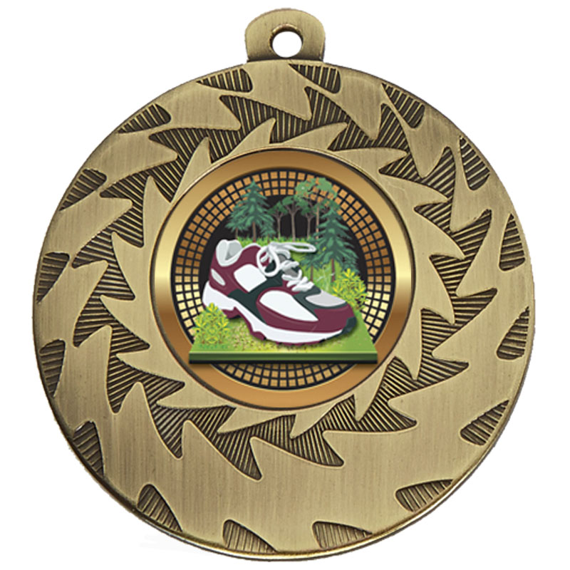 50mm Bronze Trainer Running Prism Medal
