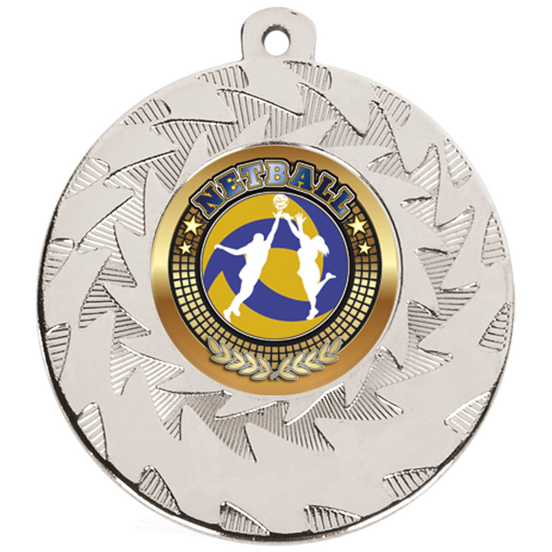 Silver Netball Prism Medal