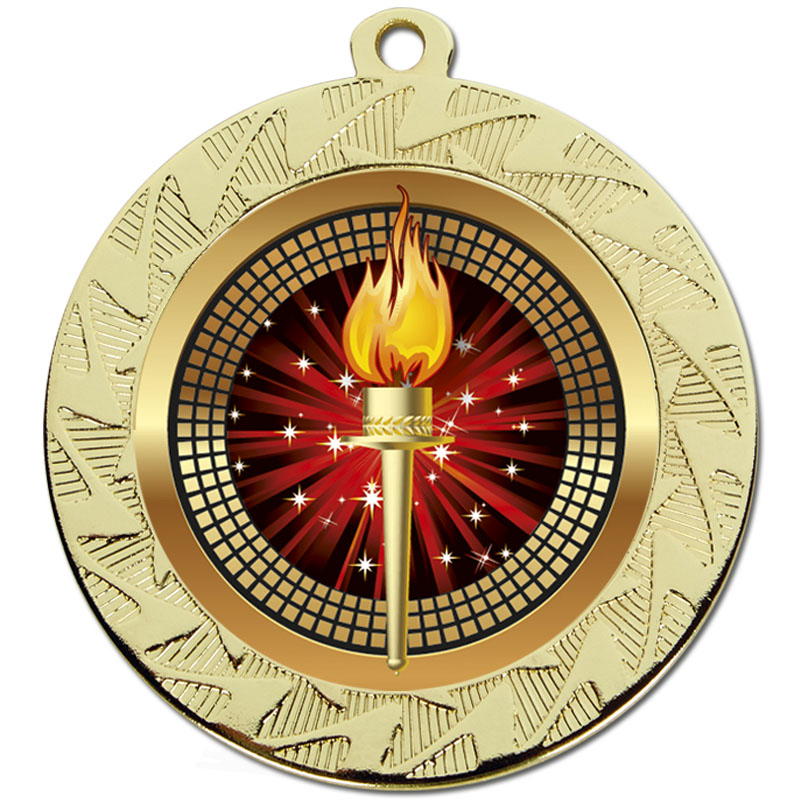 Gold Torch Prism Medal