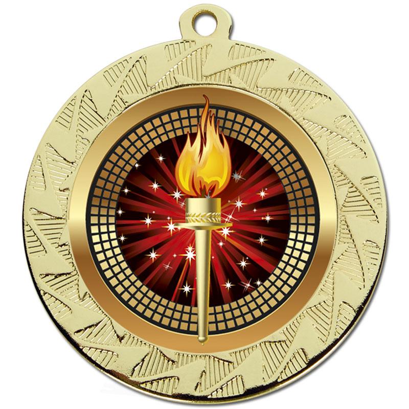 Gold Torch Prism Medal