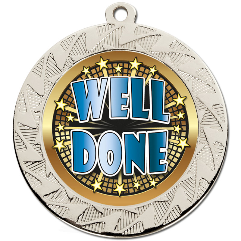 Silver Well Done Prism Medal