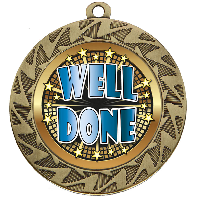 Bronze Well Done Prism Medal