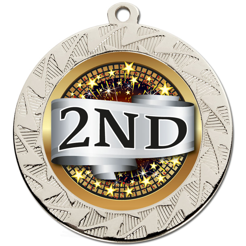 70mm Silver 2nd Place Prism Medal