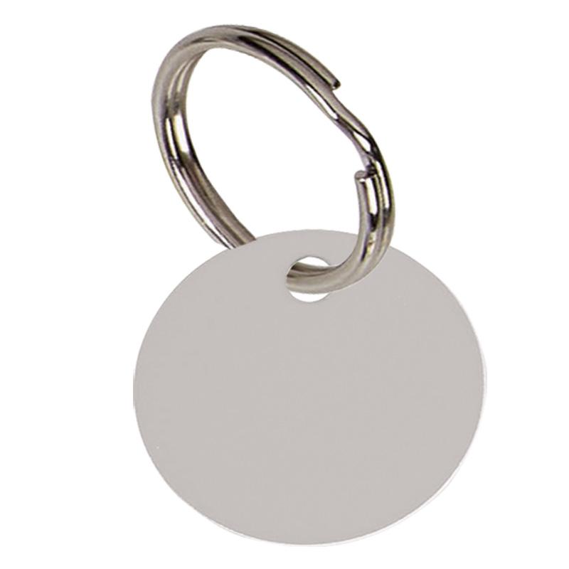 Silver Disc Pets Companion Pet Tag