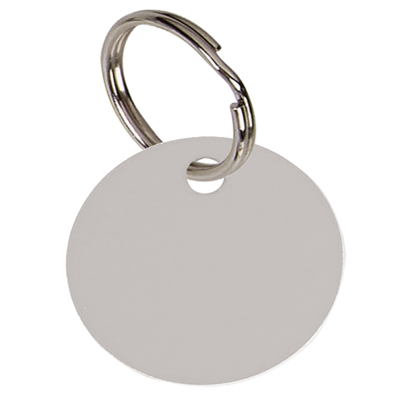Silver Disc Pets Companion Pet Tag