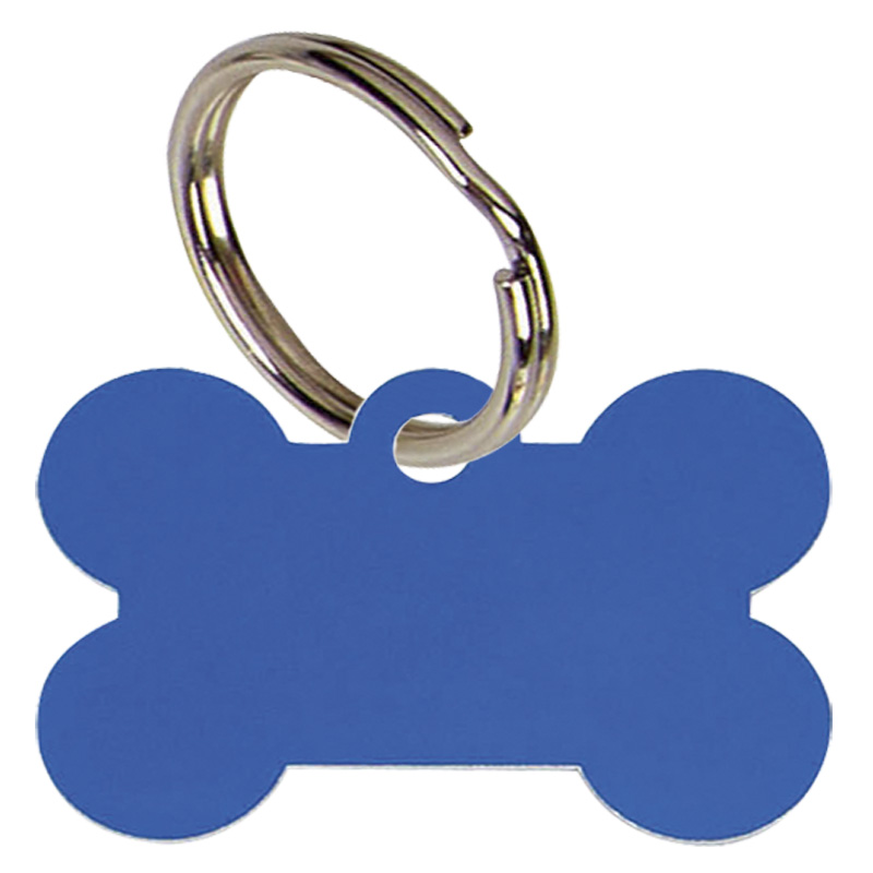 Blue Dogs Bone Pets Companion Pet Tag