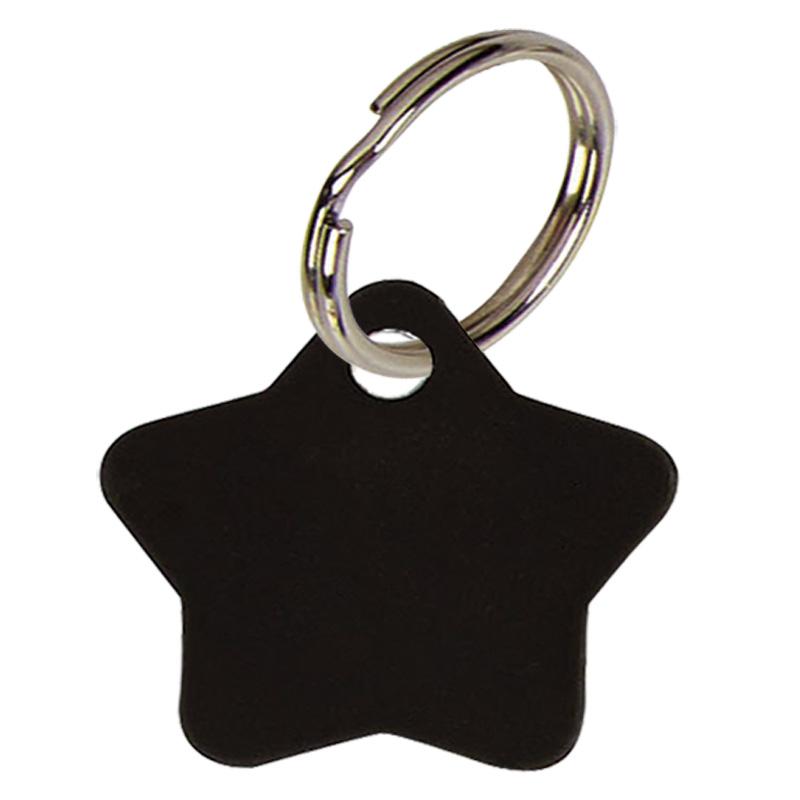 28mm Black Star Pets Companion Pet Tag