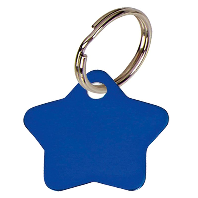 28mm Blue Star Pets Companion Pet Tag