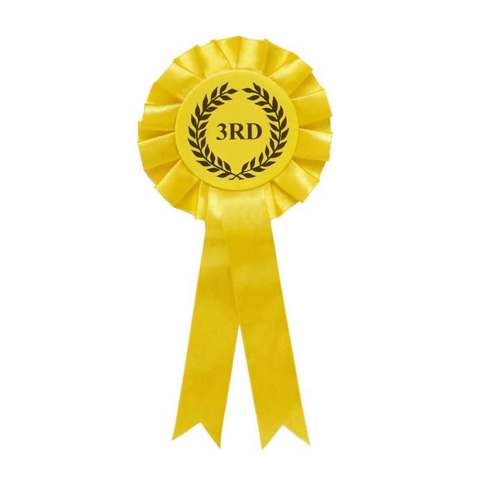 3rd Tier Citrine Yellow Rosette