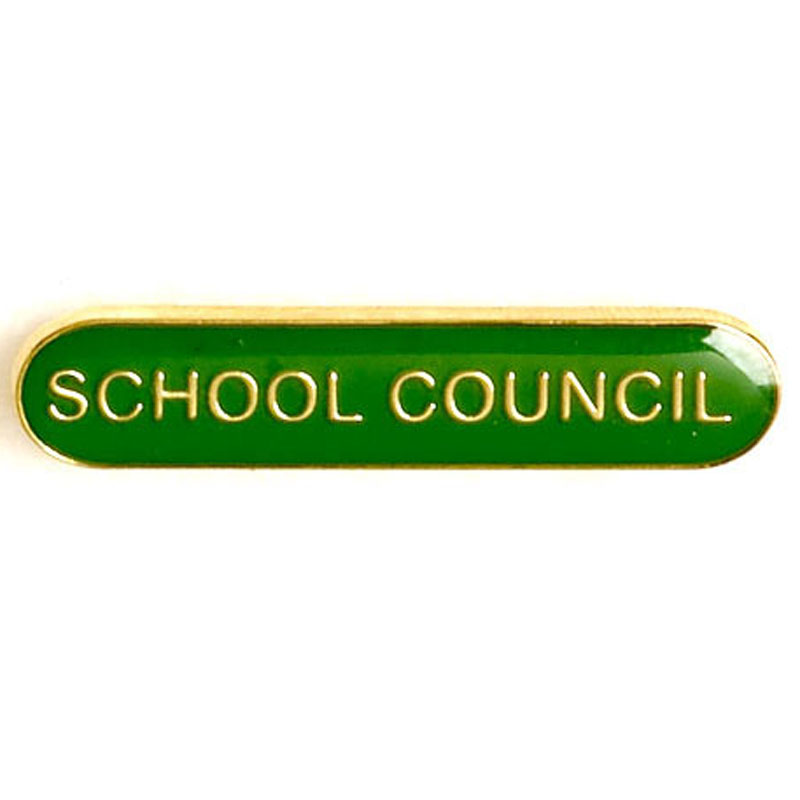 Green School Council Lapel Badge