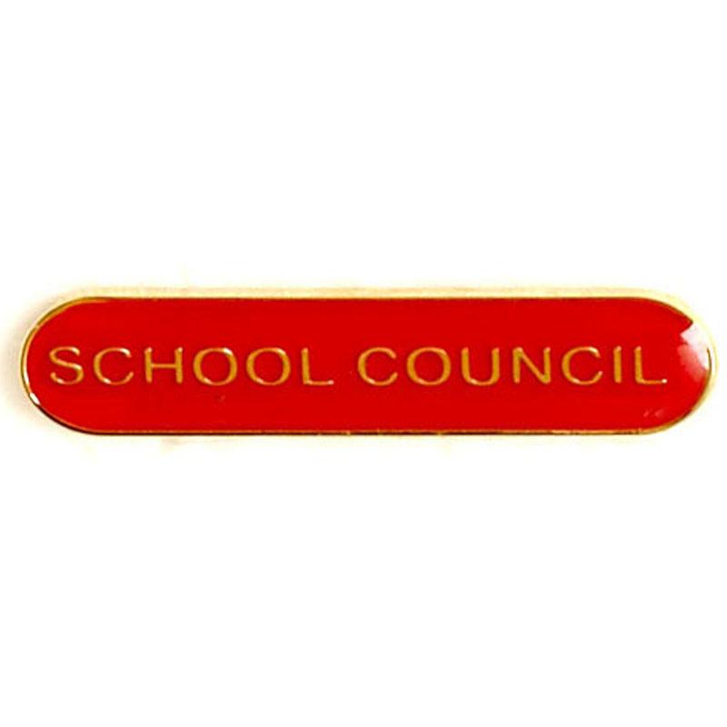 Red School Council Lapel Badge