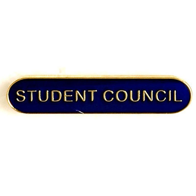 Blue Student Council Lapel Badge