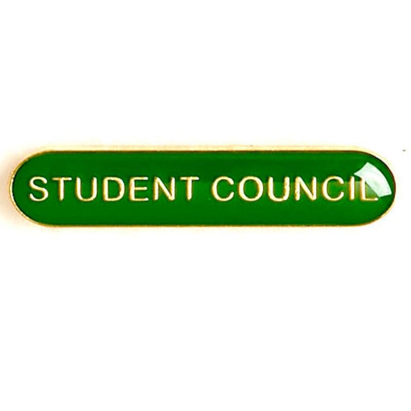 Green Student Council Lapel Badge