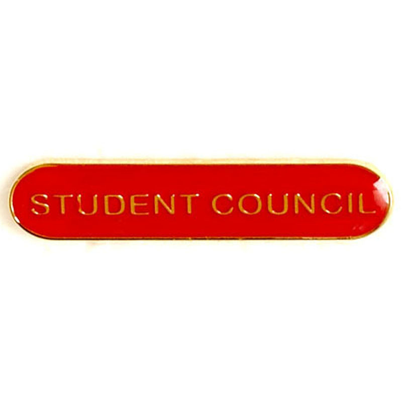 Red Student Council Lapel Badge