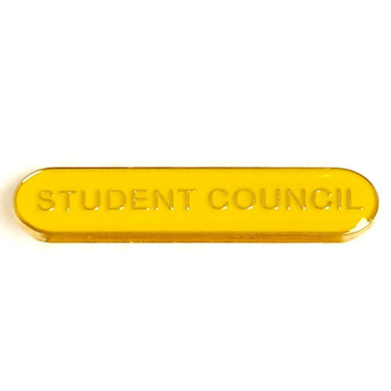 Yellow Student Council Lapel Badge