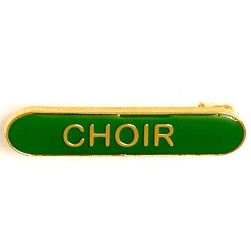 Green Choir Lapel Badge