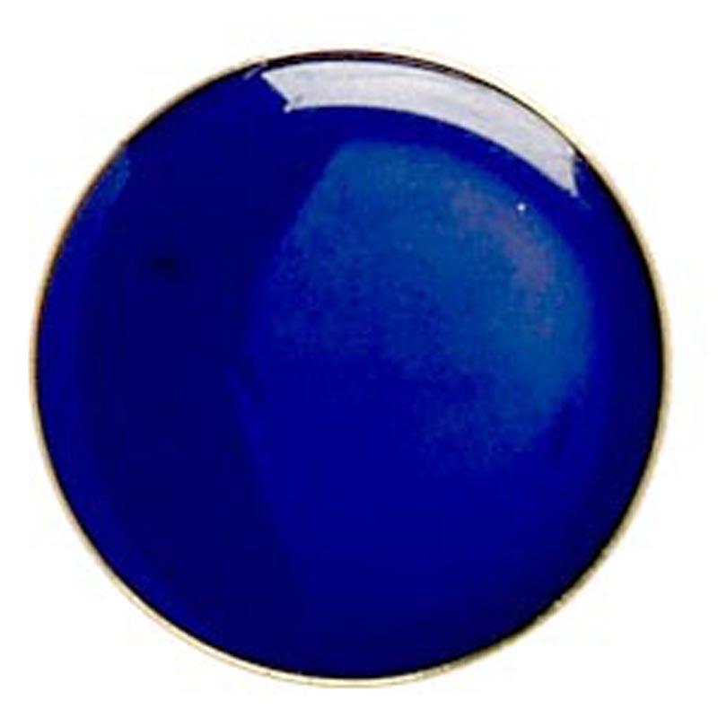 20mm Blue Circle Lapel Badge