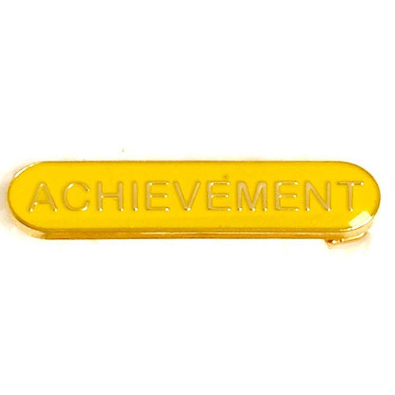 Yellow Achievement Lapel Badge
