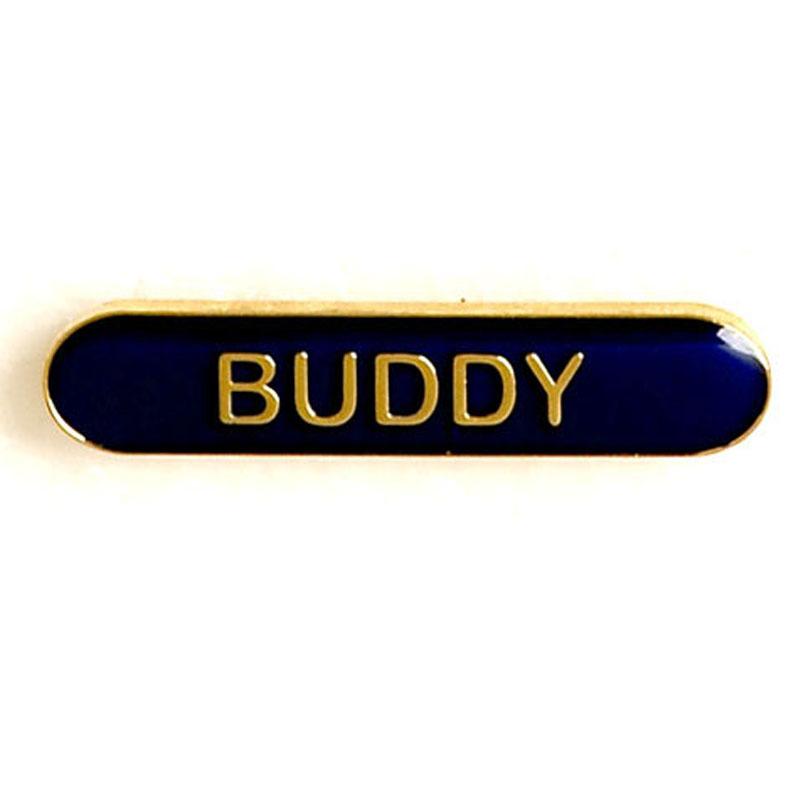 Blue Buddy Lapel Badge