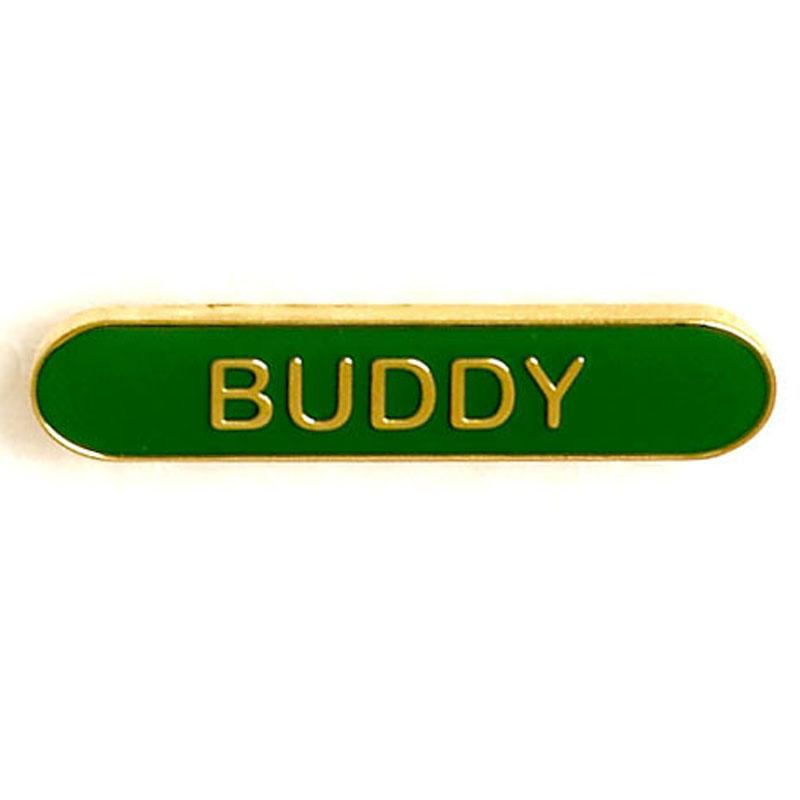 Green Buddy Lapel Badge