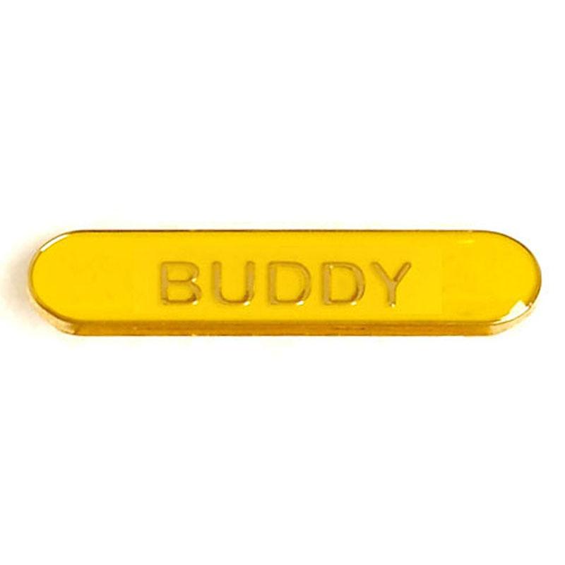 Yellow Buddy Lapel Badge