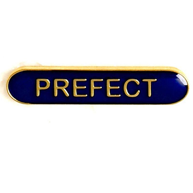 Blue Prefect Lapel Badge