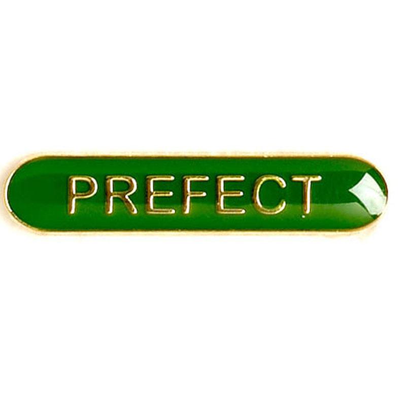 Green Prefect Lapel Badge