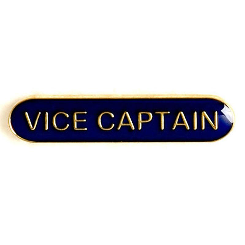 Blue Vice Captain Lapel Badge