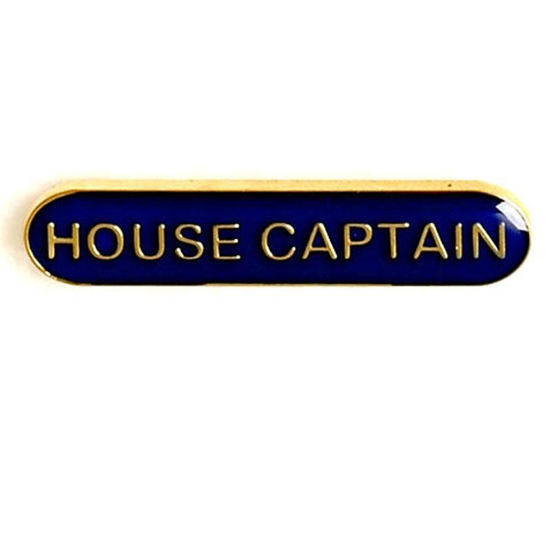 Blue House Captain Lapel Badge