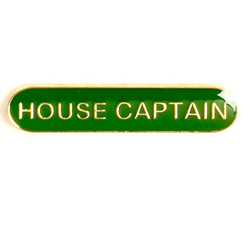 Green House Captain Lapel Badge