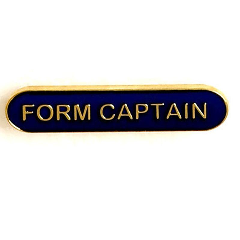 Blue Form Captain Lapel Badge