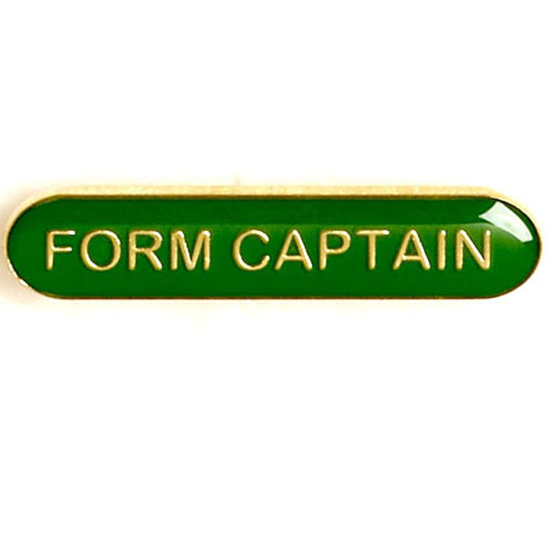 Green Form Captain Lapel Badge