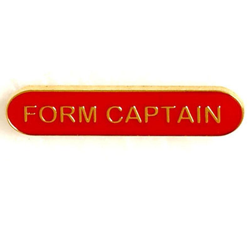 Red Form Captain Lapel Badge