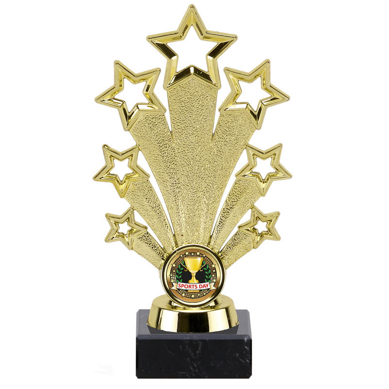 7 Star Centre Holder Fanfare Star Award