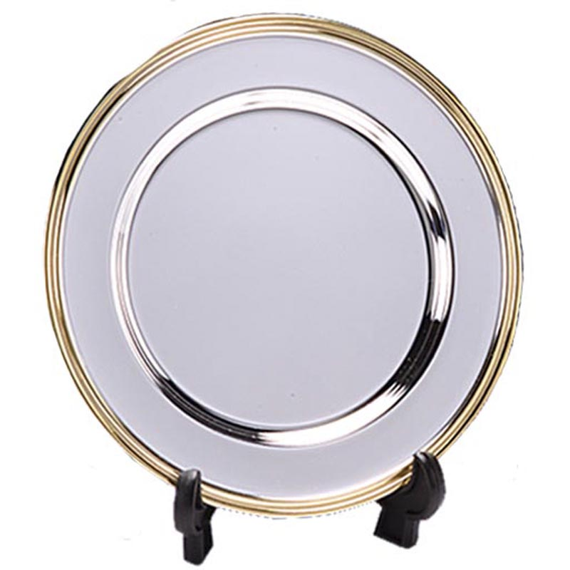 6 Inch Gold Finish Rim Canyon Presentation Salver