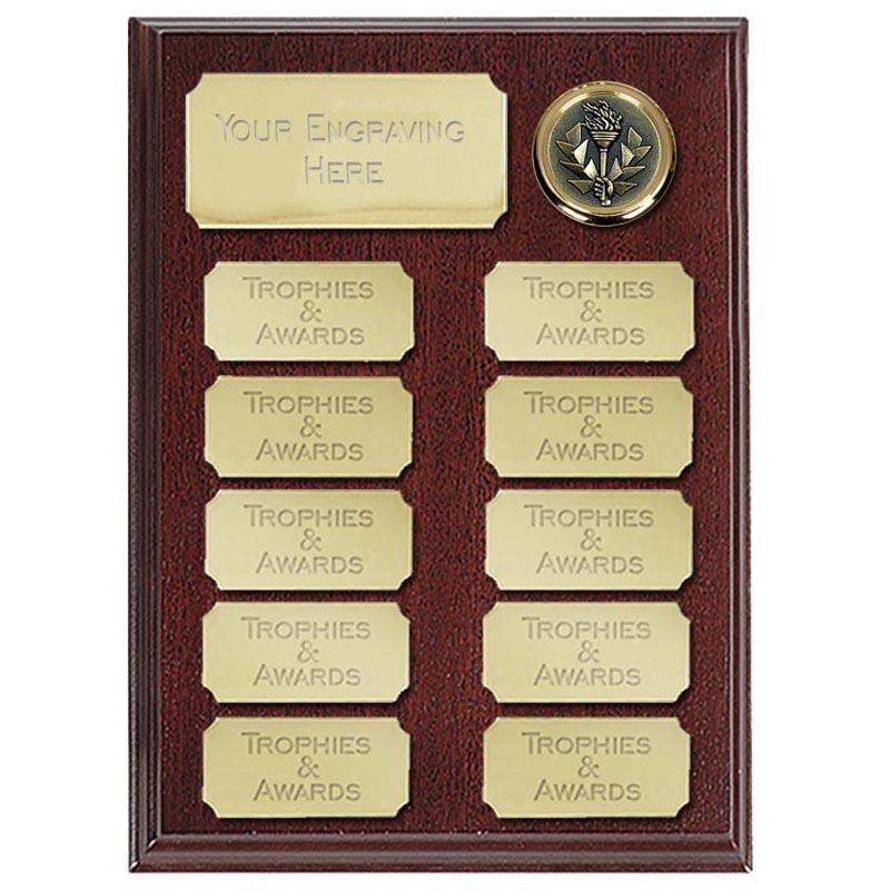 8 Inch Economy Presentation Plaque Award