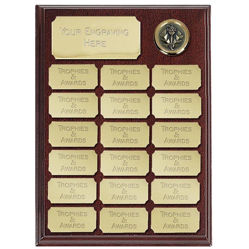 9 Inch Economy Presentation Plaque Award