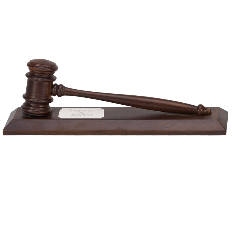 12 Inch Courthouse Gavel