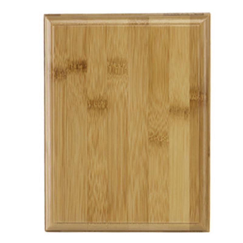 8 Inch Rectangular Bamboo Plaque