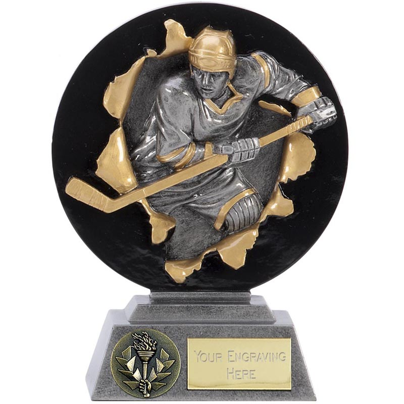 8 Inch Skating Player Ice Hockey Xplode Award